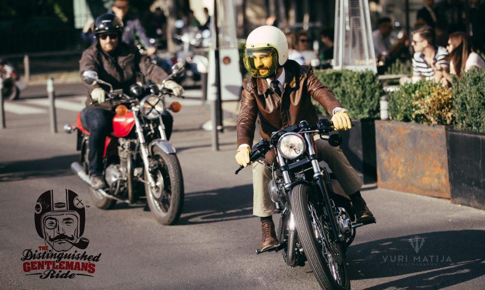 The Distinguished Gentleman's Ride 2016 Zagreb
