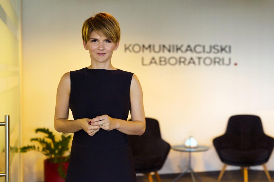 """Business portraits for """"Komunikacijski Laboratorij""""  CEO Manuela Šola"""